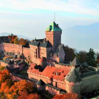 Tourism Alsace - Castle du Haut Koenigsbourg